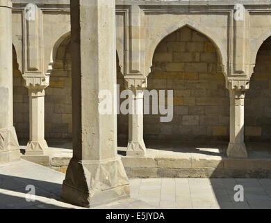 Shirvanshah's palace complex, Old City, Baku, Azerbaijan - Stock Photo