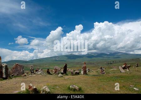 Zorats Karer (Karahunj) prehistoric archaeological site, Armenia