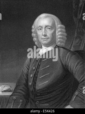 John Harrison, 1693-1776, English carpenter and clockmaker, - Stock Photo