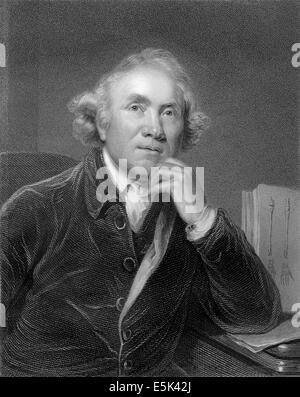 John Hunter, 1728-1793, a Scottish surgeon, - Stock Photo