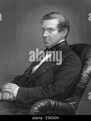 Sir Charles Wheatstone, 1802-1875, an English scientist and inventor, - Stock Photo