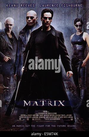 MATRIX, poster, 1999 - Stock Photo