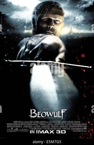 BEOWULF, Ray Winstone, 2007. ©Paramount/Courtesy Everett Collection - Stock Photo