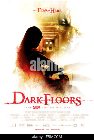 DARK FLOORS, (aka DARK FLOORS: THE LORDI MOTION PICTURE), foreign poster art, 2008. ©Ghosthouse Underground/Courtesy - Stock Photo