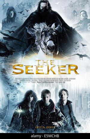 THE SEEKER: THE DARK IS RISING, top: Jonathan Jackson, Christopher Eccleston, Ian McShane, bottom: Amelia Warner, - Stock Photo