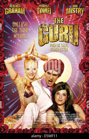 THE GURU, Heather Graham, Jimi Mistry, Marisa Tomei, 2002, (c) Universal/courtesy Everett Collection - Stock Photo