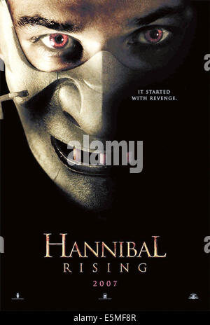 HANNIBAL RISING, Gaspard Ulliel as Hannibal Lecter, 2007. ©MGM/courtesy Everett Collection - Stock Photo