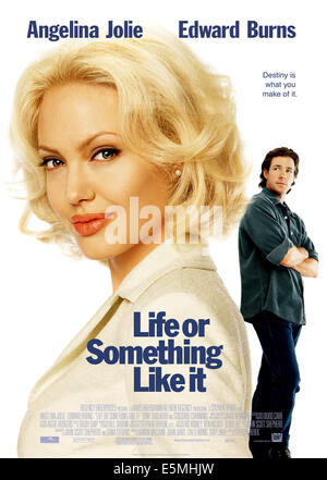 LIFE OR SOMETHING LIKE IT, Angelina Jolie, Edward Burns, 2002, TM & Copyright (c) 20th Century Fox Film Corp. All - Stock Photo