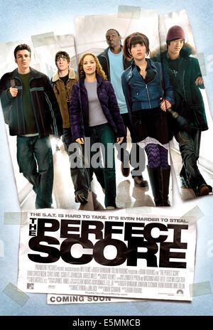 THE PERFECT SCORE, Chris Evans, Bryan Greenberg, Erika Christensen, Darius Miles, Scarlett Johansson, Leonardo Nam, - Stock Photo