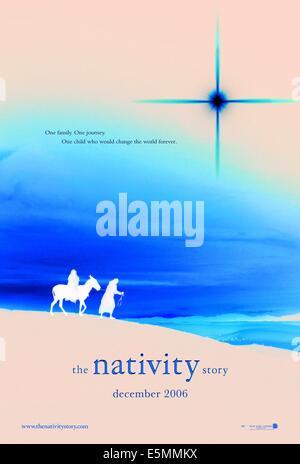 THE NATIVITY STORY, Keisha Castle-Hughes as Mary, Oscar Isaac as Joseph, 2006, ©New Line Cinema/courtesy Everett - Stock Photo