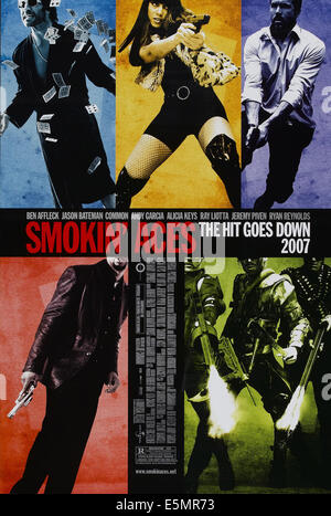 SMOKIN' ACES, US poster art, top, from left: Jeremy Piven, Alicia Keys, Ryan Reynolds, 2006. ©Universal Pictures/Courtesy - Stock Photo