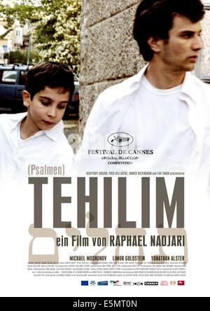 TEHILIM, Yonathan Alster, Michael Moshonov, 2007. ©Films Distribution/Courtesy Everett Collection - Stock Photo