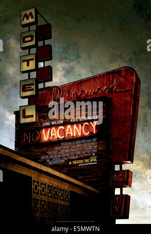 VACANCY, 2007. ©Screen Gems/courtesy Everett Collection - Stock Photo