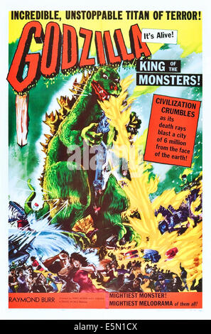 GODZILLA, KING OF THE MONSTERS!, (aka 'GOJIRA' upon its initial release in Japan in 1954); as 'Godzilla': Katsumi - Stock Photo