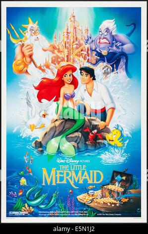 The Little Mermaid 1989 Poster