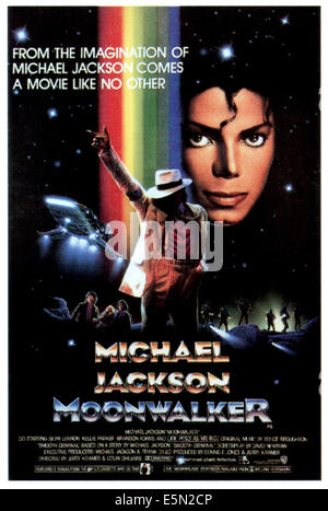 MOONWALKER, Michael Jackson, 1988, ©Ultimate Productions/courtesy Everett Collection - Stock Photo