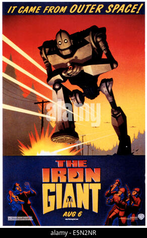 THE IRON GIANT, 1999, ©Warner Bros./courtesy Everett Collection - Stock Photo