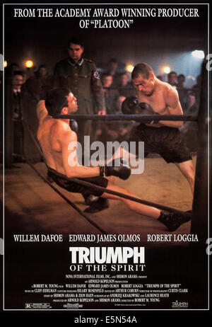 triumph of the spirit (1989) willem dafoe tosp 002 stock photo