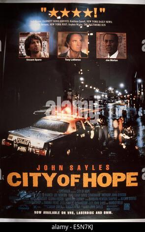 Risultati immagini per city of hope film 1991 locandina