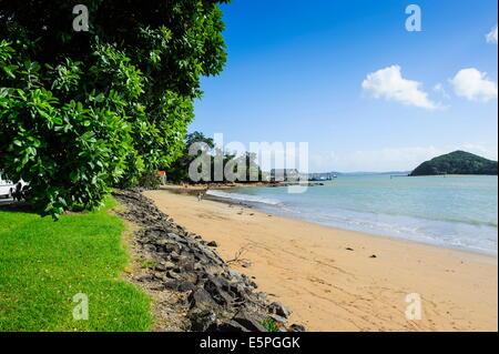 Paihia, Bay of Islands, North Island, New Zealand, Pacific - Stock Photo