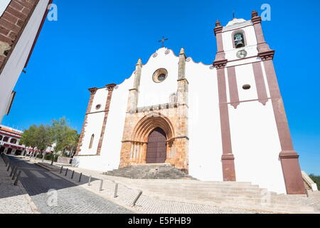 Silves Cathedral, Algarve, Portugal, Europe - Stock Photo