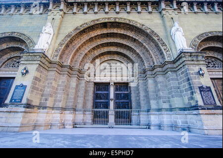 Entrance of the Manila Cathedral, Intramuros, Manila, Luzon, Philippines, Southeast Asia, Asia - Stock Photo