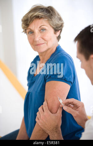 Vaccine against influenza. - Stock Photo