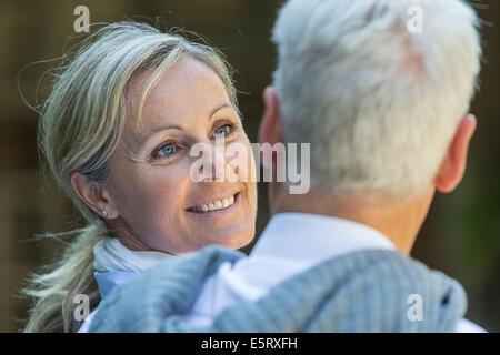 Senior couple. - Stock Photo