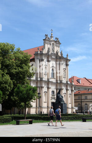 St Joseph of the Visitationists Church in Warsaw - Stock Photo