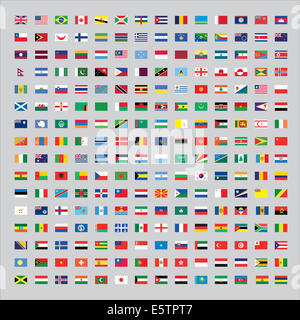 Flags of the World - Stock Photo