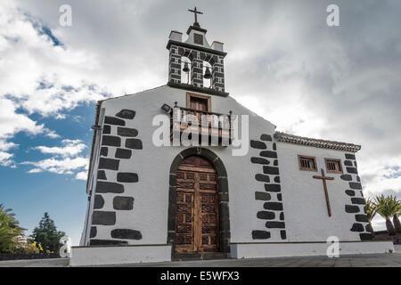 Pilgrim church Nuestra Señora de la Concepción del Risco, Santa Cruz de La Palma, La Palma, Canary Islands, Spain - Stock Photo