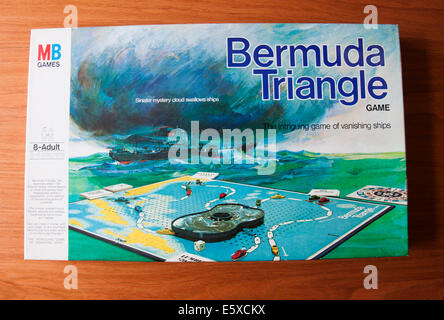 Bermuda Triangle Board Game - Stock Photo