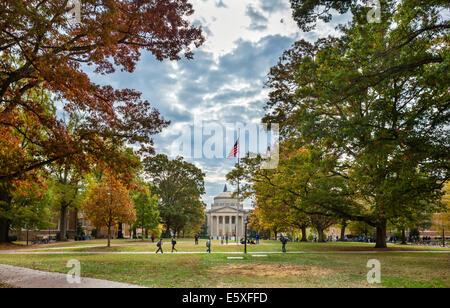 The campus at the University of North Carolina at Chapel Hill, Chapel Hill, North Carolina, USA