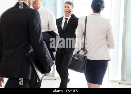 Businessman on the move - Stock Photo
