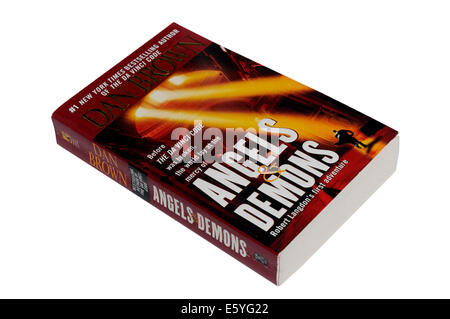Angels and Demons by Dan Brown - Stock Photo