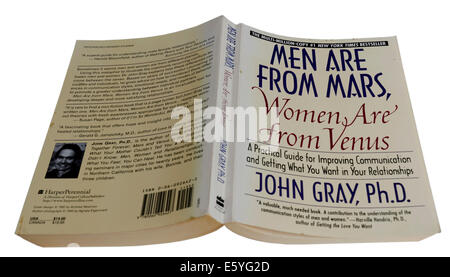 Men Are From Mars, Women Are From Venus by John Gray - Stock Photo