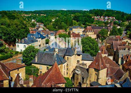 France, Aquitaine, Dordogne, Perigord Noir, Dordogne valley, Sarlat-la-Caneda