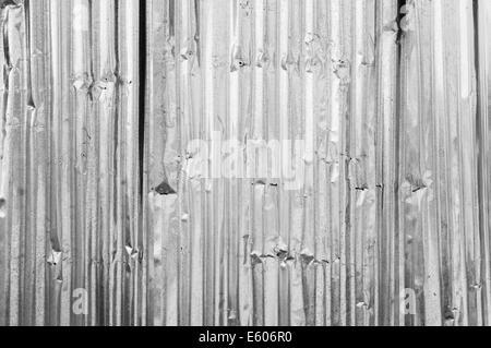 Old metal corrugated - Stock Photo