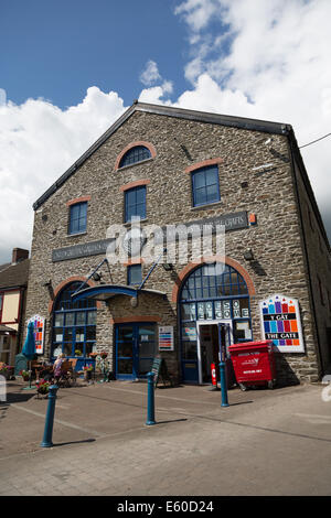 St Clears craft centre and cafe, west Wales - Stock Photo
