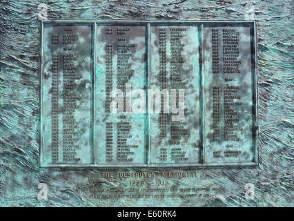 The Destoyer Memorial 1939 - 1945. Chatham Historic Dockyard, Kent, England, UK - Stock Photo