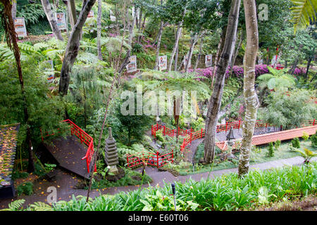 Monte gardens, Funchal, Madeira, Portugal Stock Photo: 72548229 - Alamy