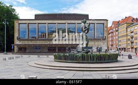GÖTEBORGS KONSERTHUS, GÖTAPLATSEN (Gothenburg Concert House) in Gothenburg Sweden - Stock Photo