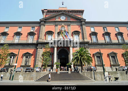Naples National Archaeological Museum, Naples, Campania, Italy - Stock Photo