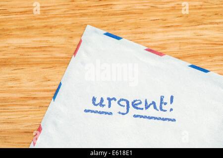 Urgent mail - Stock Photo