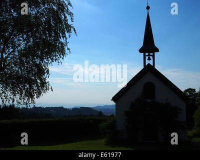 A photo of a little chapel in Black Forrest, Germany. - Stock Photo