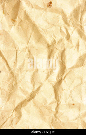 Crumpled paper, may be used as background - Stock Photo