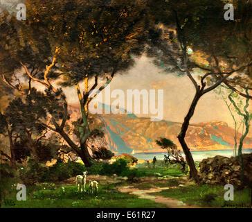 Francois Louis Francais (1814-1897). French landscape painter Stock ...