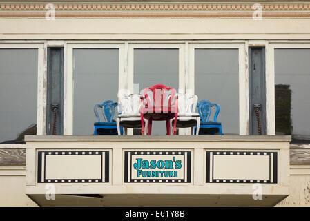 Jasonu0027s Furniture Store In New London CT   Stock Photo