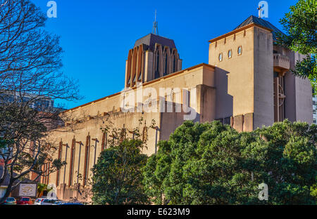 St Paul's cathederal Church Wellington new zealand - Stock Photo