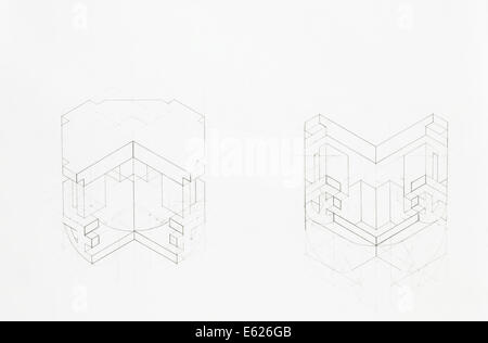 Architectural blueprint of vaulted arch drawn by hand stock photo architectural blueprint of structure of vaulted arch overview stock photo malvernweather Image collections
